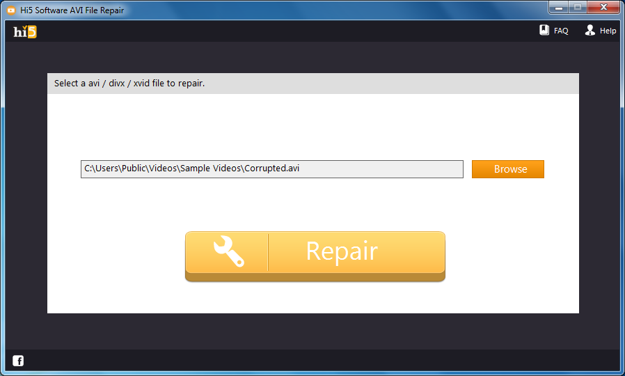 avi file repair software