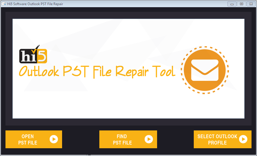 Hi5 Software Outlook PST File Repair