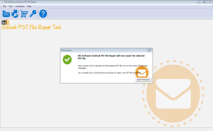 Hi5 Outlook PST File Repair Tool