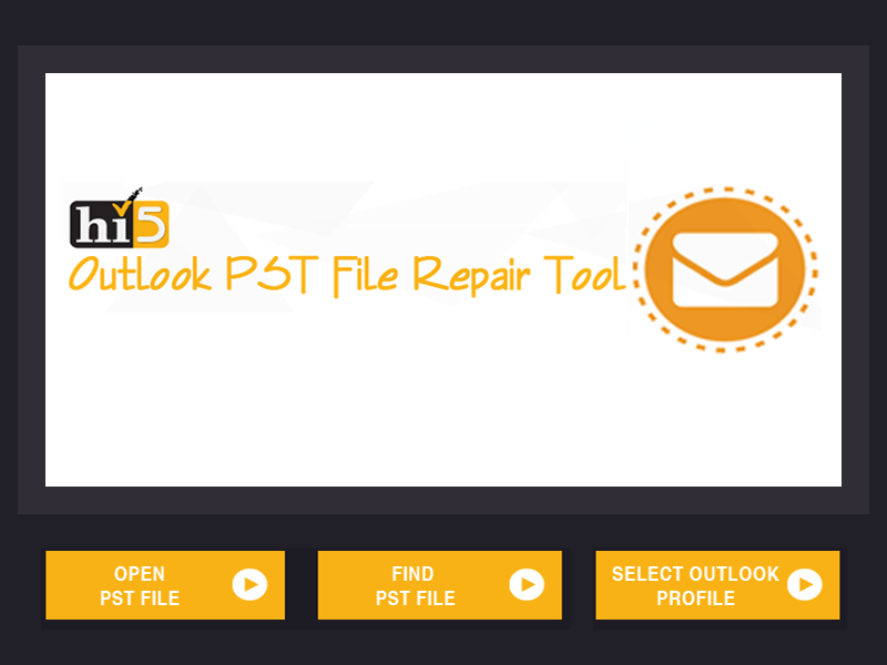 Easily repair Outlook PST Data File
