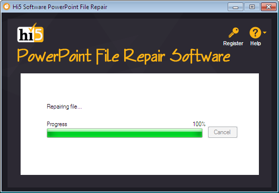 powerpoint file repair tool