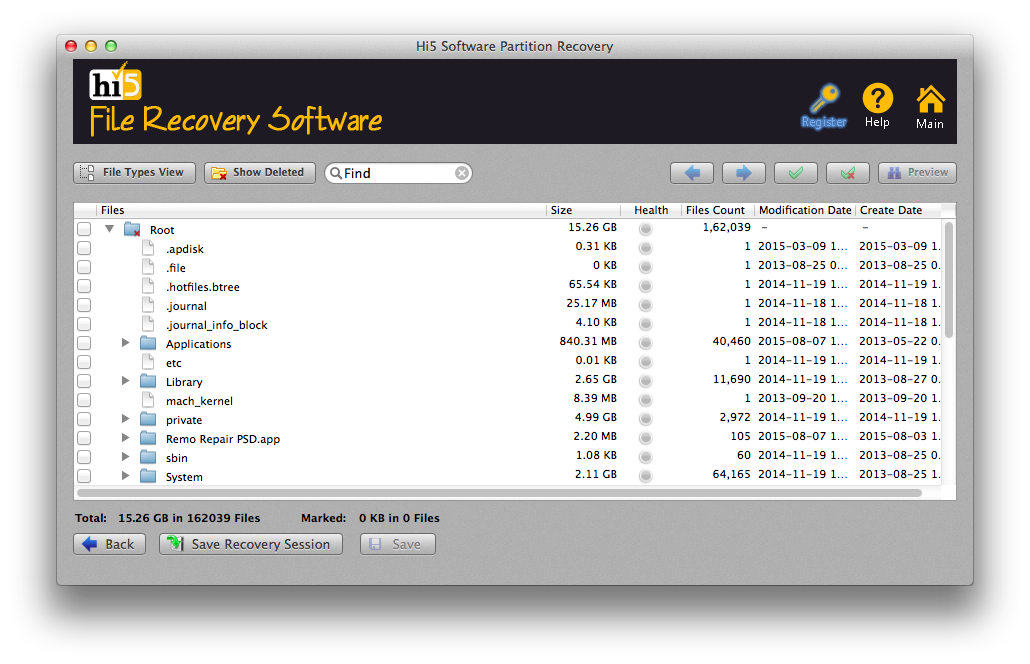 mac partition recovery program
