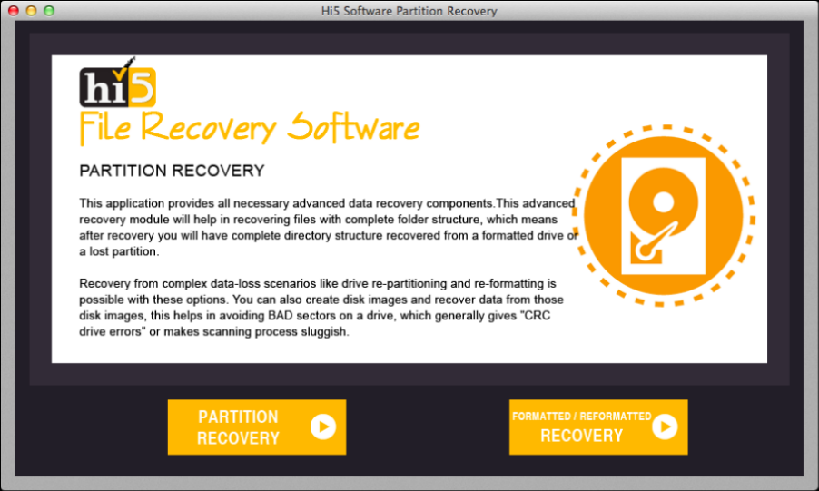 mac partition recovery software