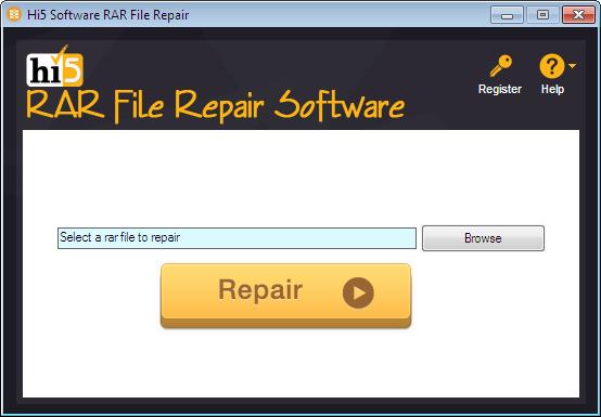 Hi5 RAR File Repairing Software