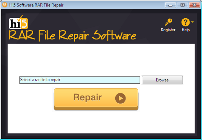 Free download Hi5 Software RAR File Repair